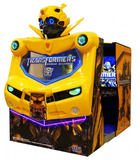 Sega Transformers Human Alliance Arcade Machine