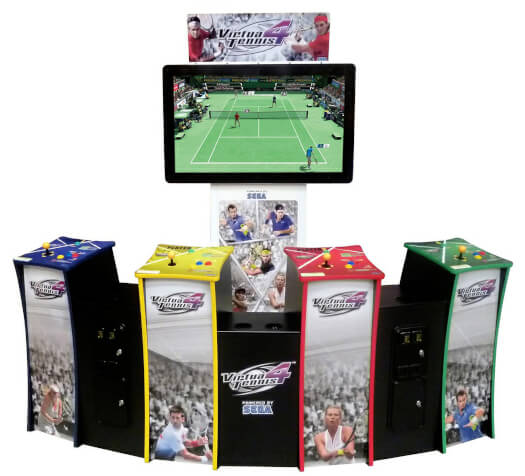 Sega Virtua Tennis 4 Deluxe Arcade Machine