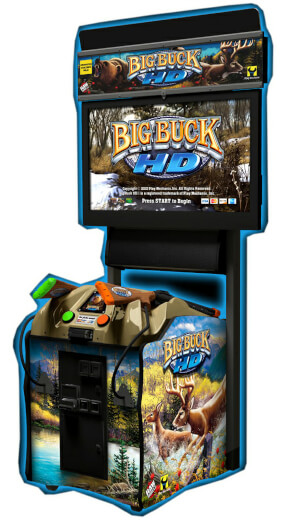 Namco Big Buck HD Arcade Machine
