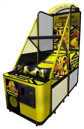 Pacman Table Game >> Namco Pac-Man Basket Basketball Machine | Liberty Games