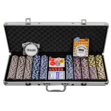 Pro Poker 500 Piece Numbered Poker Chip Set - 14g