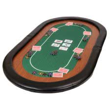 Mini Champion Folding Poker Table Top (RTMINIGREEN)