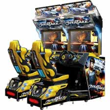 Wahlap Overtake Twin Arcade Machine