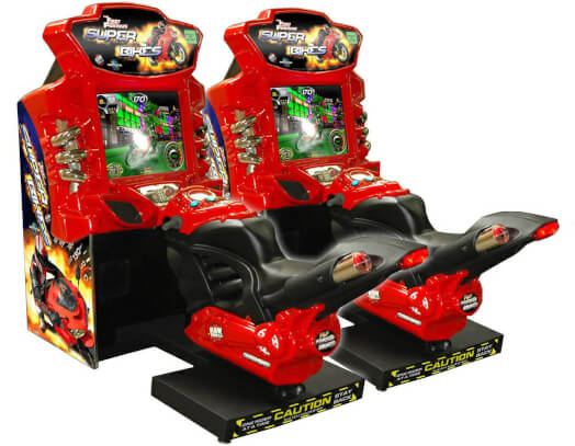 Raw Thrills Fast and the Furious Superbikes Arcade Machine