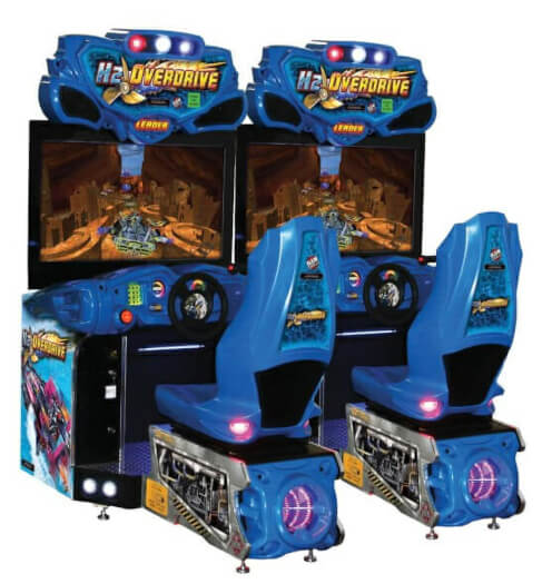 Raw Thrills H2Overdrive Arcade Machine