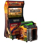 Big Buck Safari Deluxe Arcade Machine