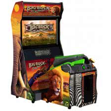 Raw Thrills Big Buck Safari Deluxe Arcade Machine