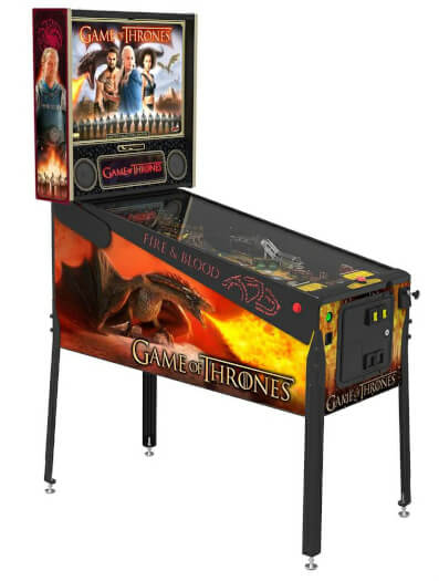 Stern Game of Thrones Limited Edition Pinball Machine