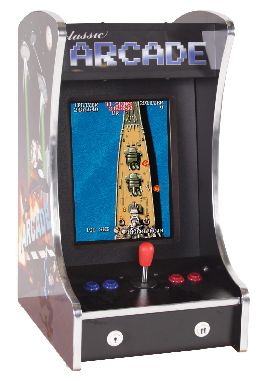 Cosmic 80s Mini Multigame Bartop Arcade Machine | Liberty ...