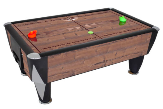 SAM Superstrike 7-foot Air Hockey Table