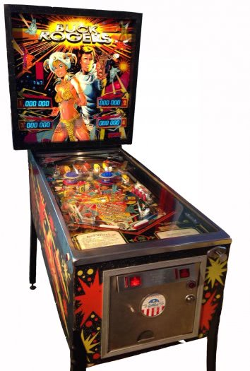 Buck Rogers Pinball Machine