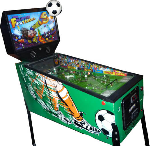 Capcom Flipper Football Pinball Machine
