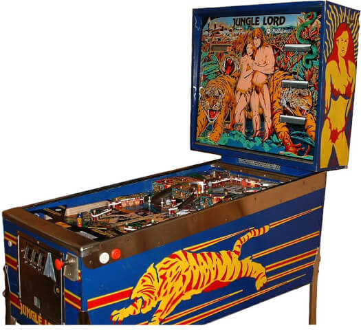 Jungle Lord Pinball Machine
