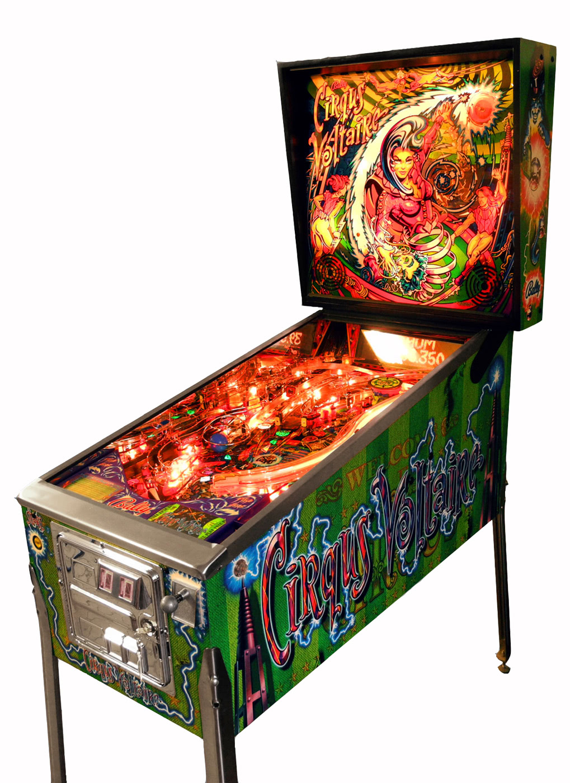 cirqus voltaire pinball machine