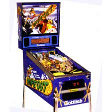 Wipeout Pinball Machine