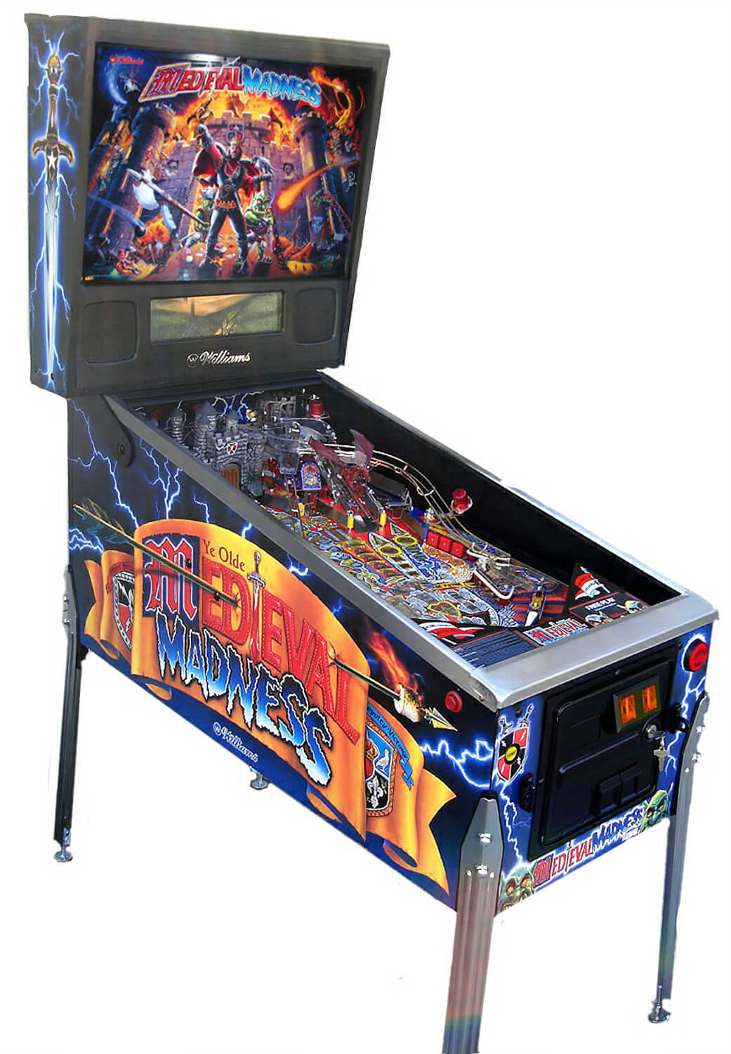 Medieval Madness Pinball Machine For Sale Liberty Games