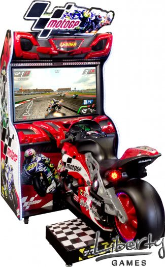 Raw Thrills MotoGP Arcade Machine