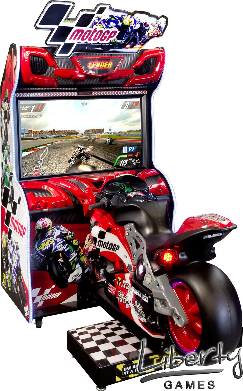 Motogp Arcade Machine Liberty Games