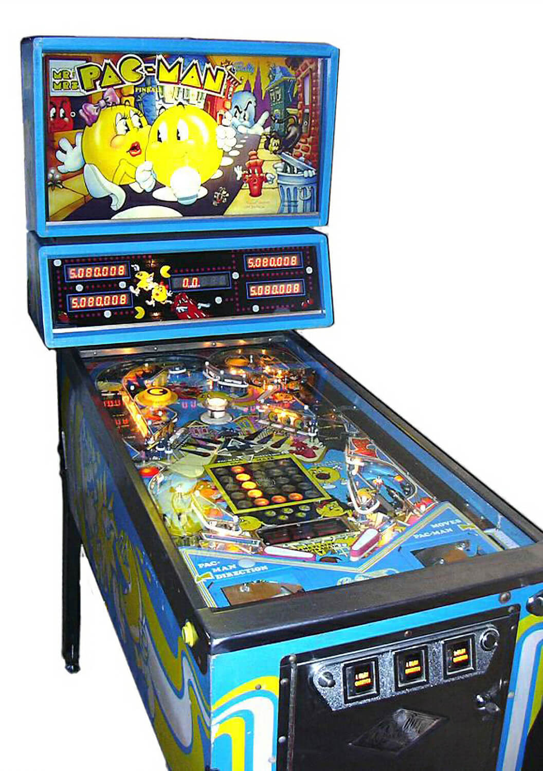 Mr Amp Mrs Pac Man Pinball Machine For Sale Liberty Games