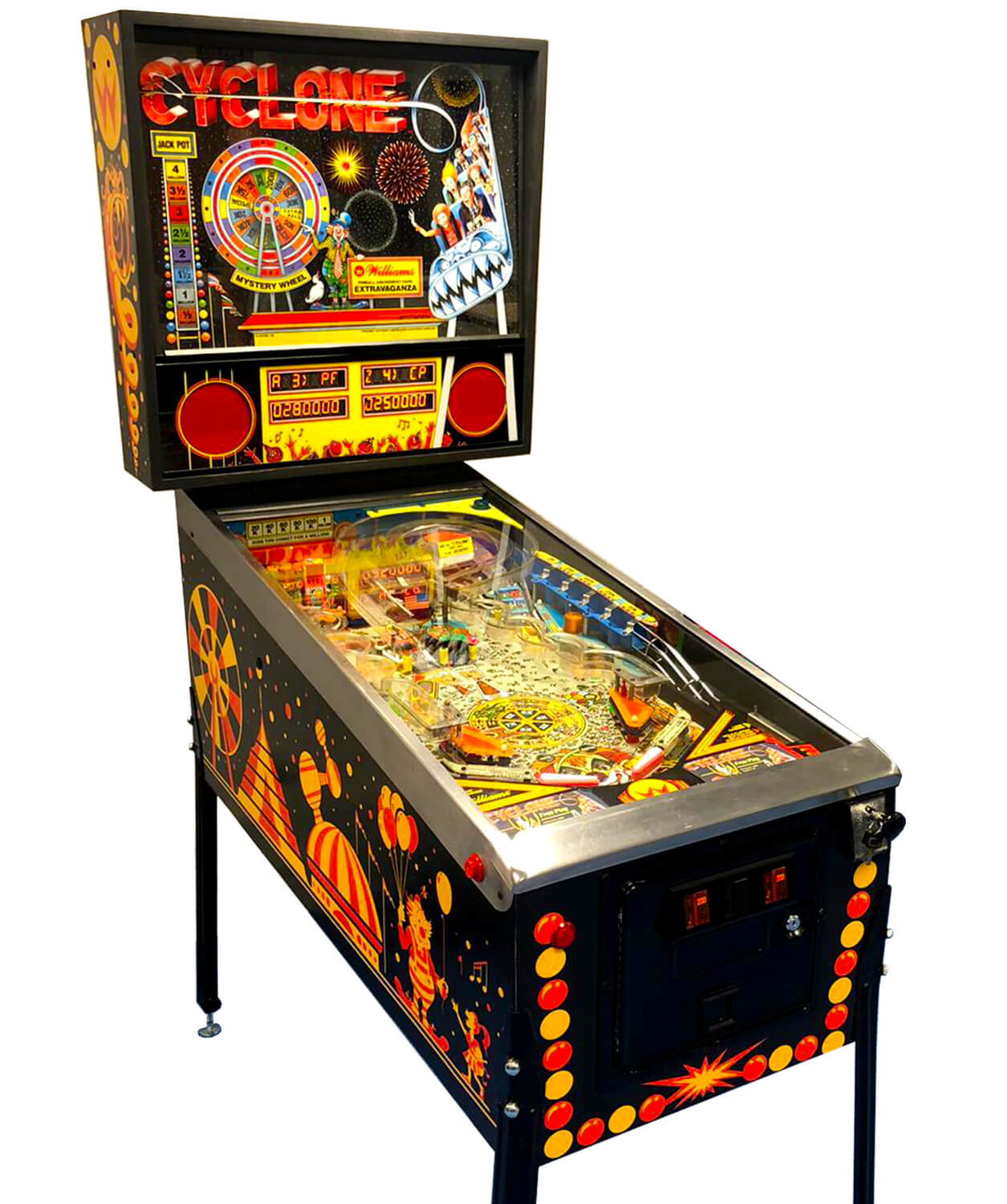 pinball machine cyclone