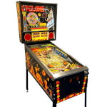 Cyclone Pinball Machine