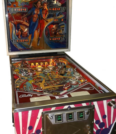 Future Spa Pinball Machine