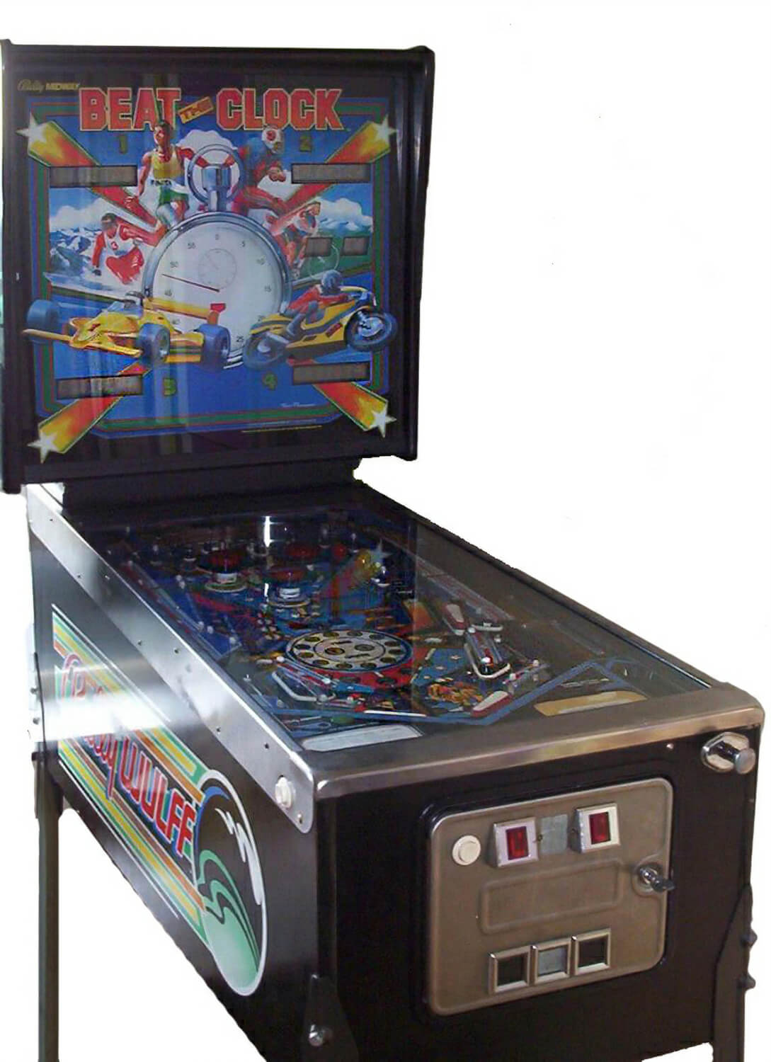 beat the clock pinball machine for sale liberty games. Black Bedroom Furniture Sets. Home Design Ideas