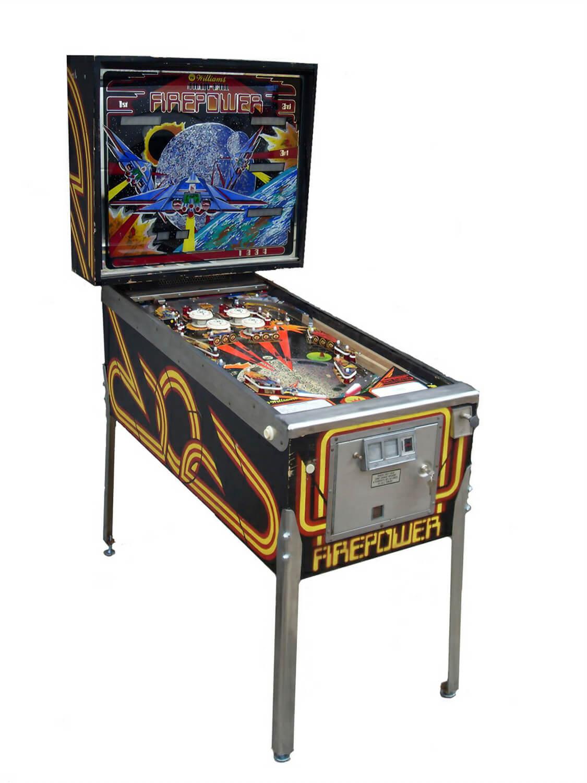 Firepower Pinball Liberty Games