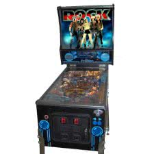 Rock Pinball Machine