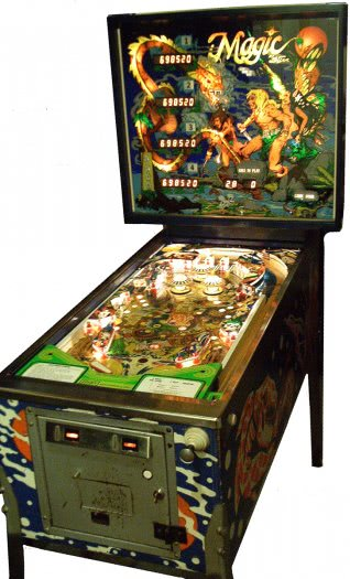 Stern Magic Pinball Machine