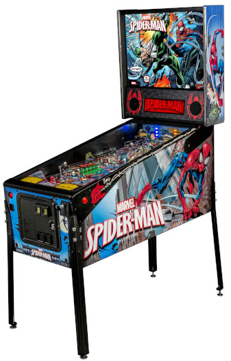 Stern Spider-Man 'Vault Edition' Pinball Machine