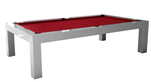 Longoni Slim American Slate Bed Pool Table