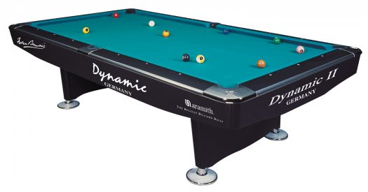 Dynamic II Slate Bed Pool Table