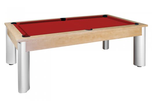 Dynamic Toledo Slate Bed American Pool Dining Table