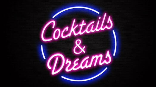 Cocktails & Dreams Neon Bar Sign