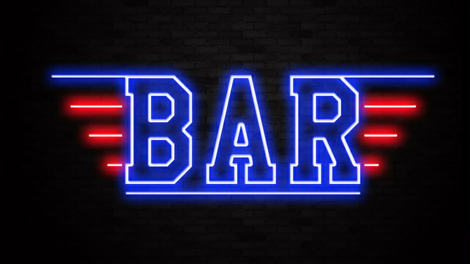 Led Lights Bars Top Gun Neon Sign Liberty Games Subaru