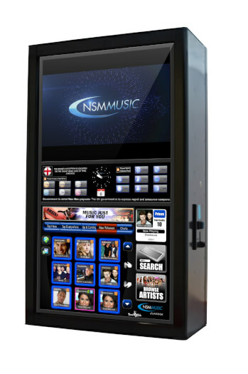 NSM Icon Storm Digital Jukebox