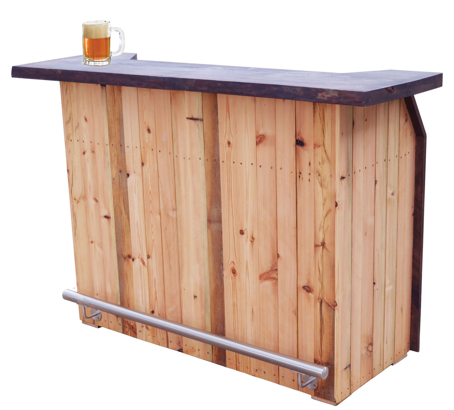 Wood Home Bar: Rustic Home Bar