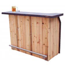 The Rustic Outdoor Solid Wood Home Bar