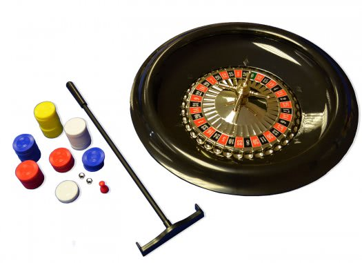 16-inch Roulette Wheel & Accessories
