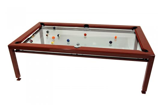 G4 Phoenix Luxury Glass Pool Table