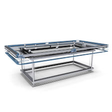 G7 Mode Luxury Glass Pool Table