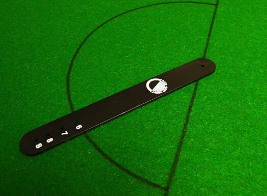Pool Table 'D' Marking Stick