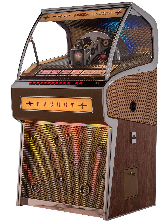 Sound Leisure Rocket Vinyl Jukebox Liberty Games