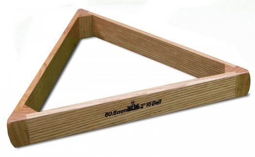 Peradon Oak Pool Ball Triangle For 2-Inch Balls