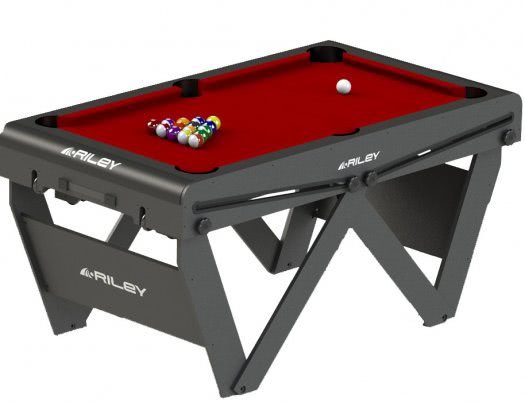 Riley 5ft W-Leg Folding Pool Table