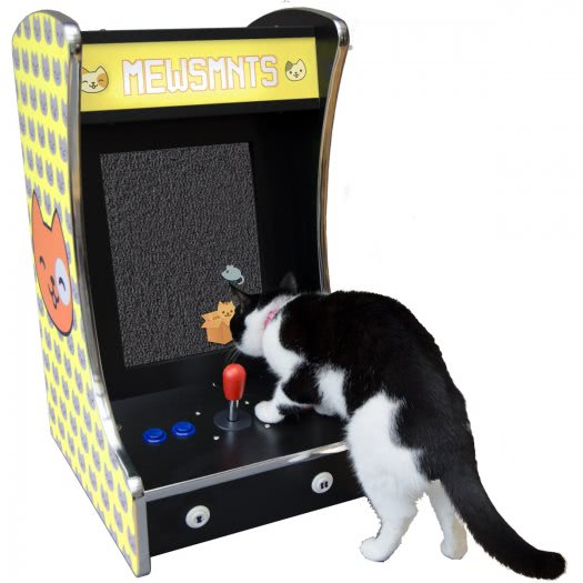 Mewsmnts Rcade Multiplay Arcade Machine For Cats