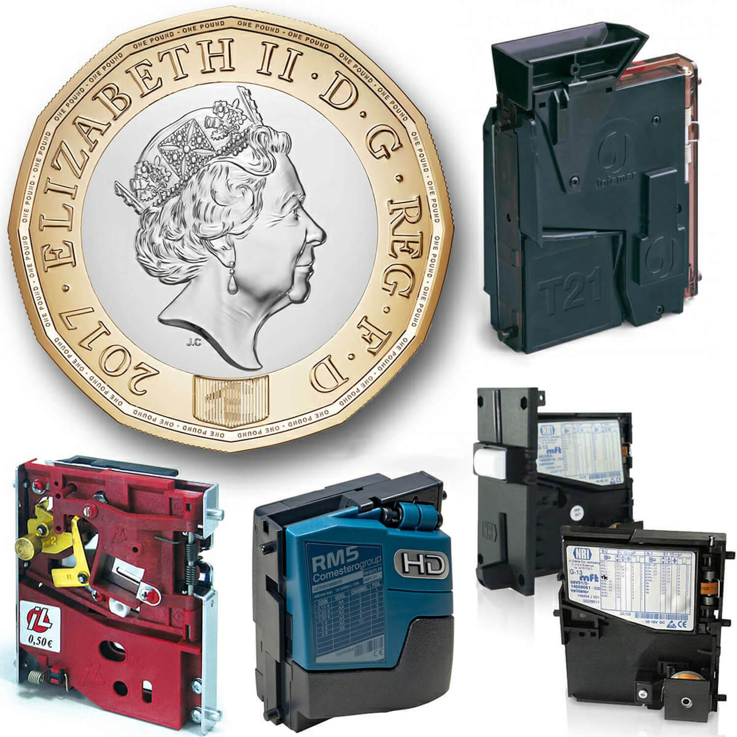 Is Your Coin Mech Ready for the New Pound Coin? - Liberty