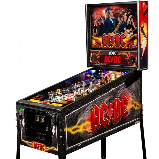 Stern Ac Dc Pro Vault Edition Pinball Machine Liberty Games