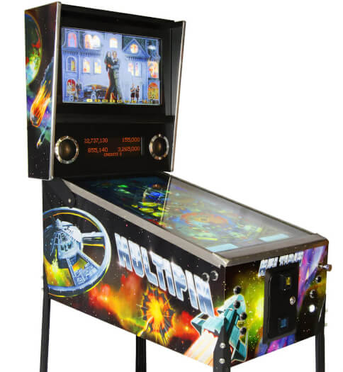 MultiPin Virtual Pinball Machine